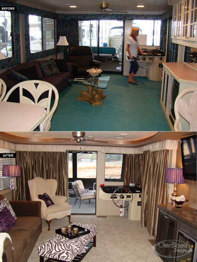 House Boat Interiors