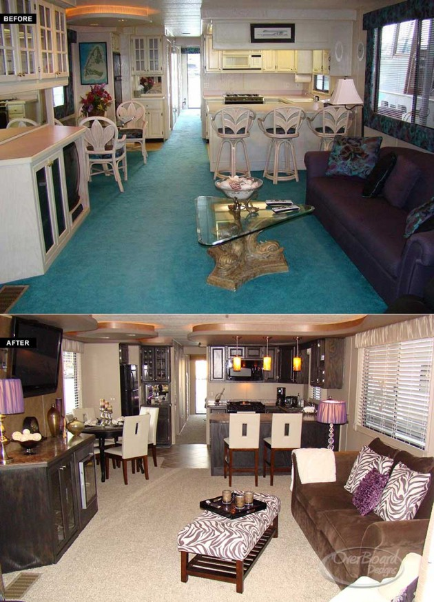 Design My Own Living Room Online Free: Houseboat Renovations