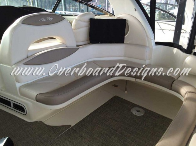Overboard Designs - Marine Upholstery, Canvas and more for all kinds