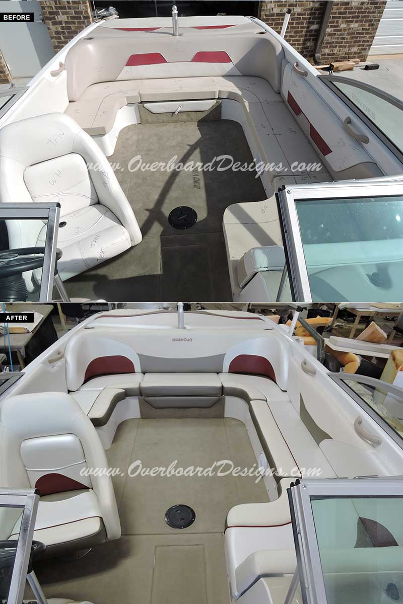 Overboard Designs - Portfolio | Marine Upholstery and Canvas