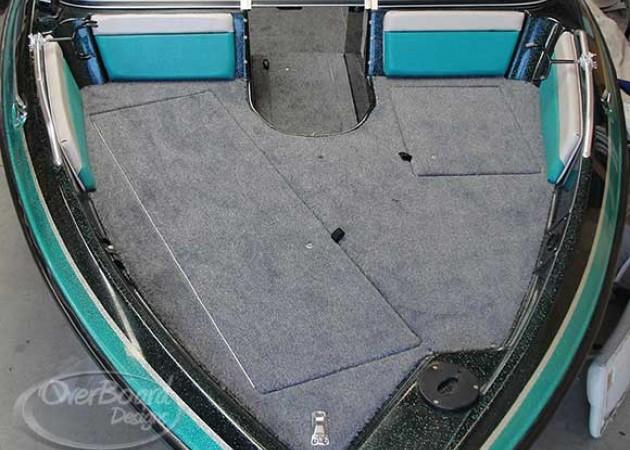 Overboard Designs - Marine Carpeting, Snap-in carpeting